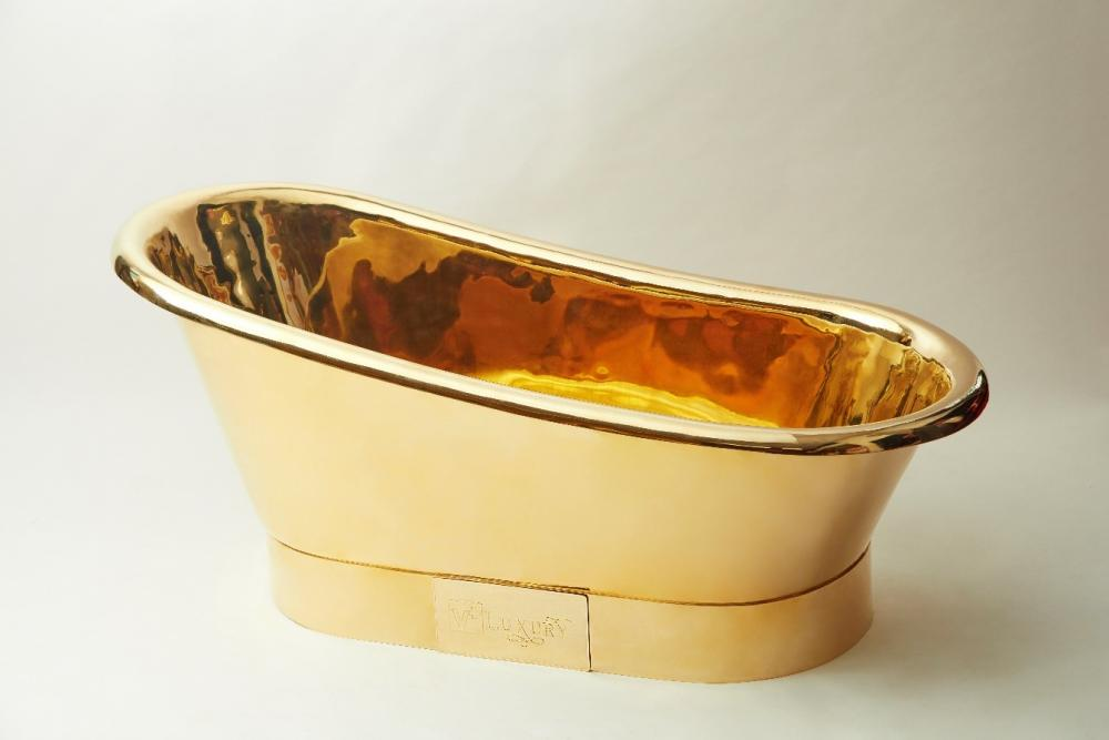 24K Golden Bathtub