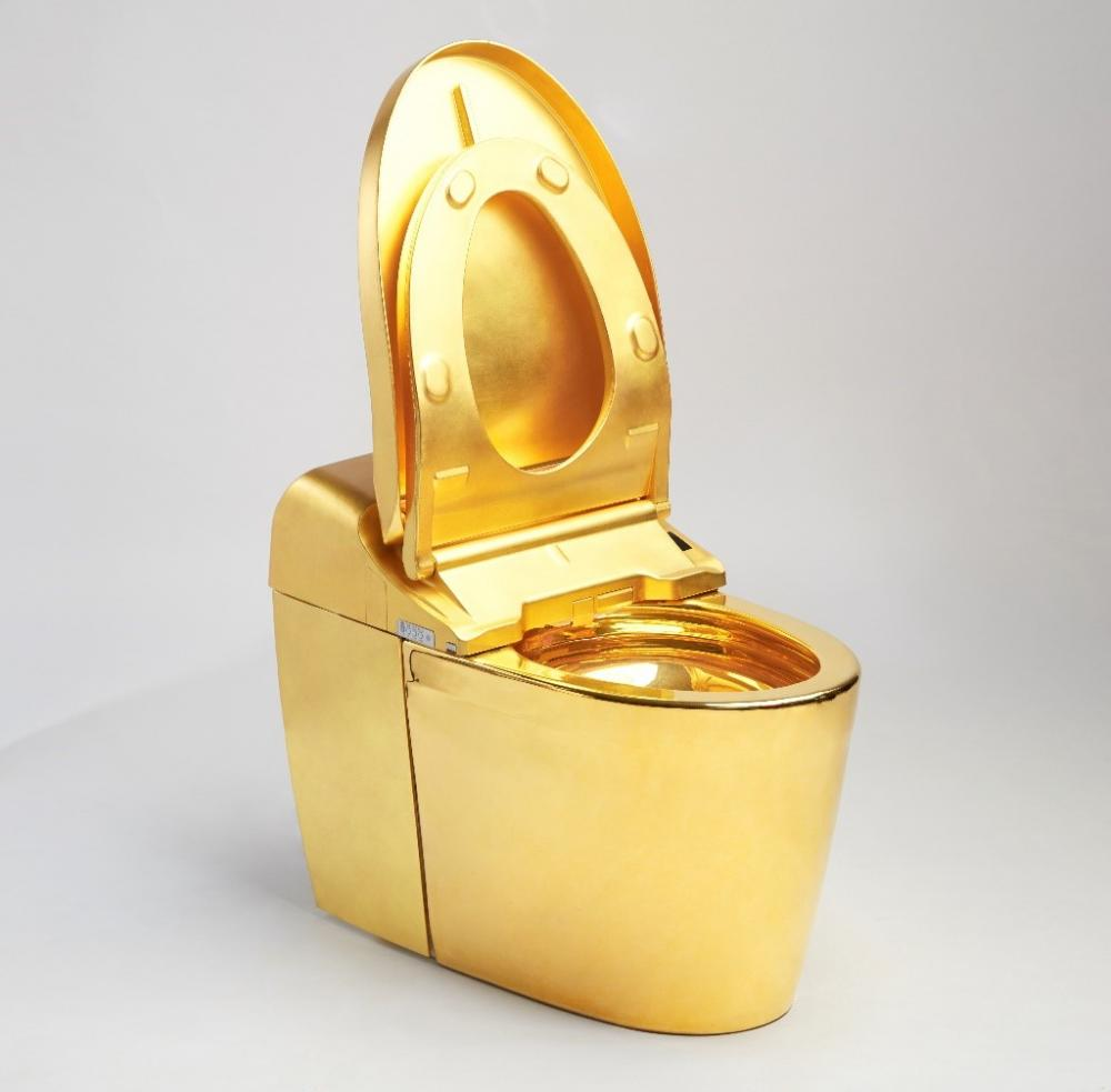 24K Golden Toilet
